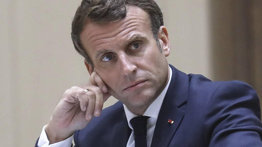 Frankreichs Präsident Macron will Mitte-Regierung umbilden