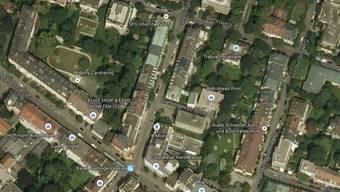 Der Mann wurde in der Grellingerstrasse zwischen Hardstrasse und Rennweg ausgeraubt.