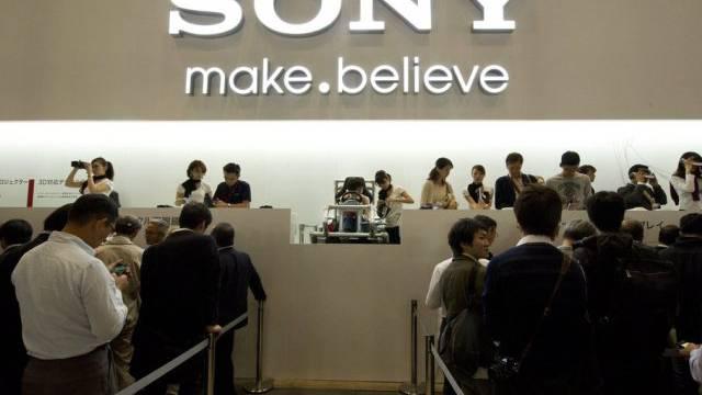 Der Elektronikkonzern Sony kehrt in die Gewinnzone zurück (Archiv)