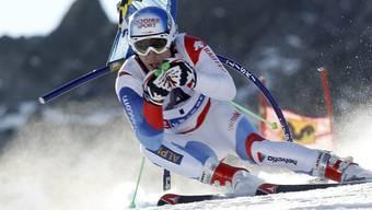 Carlo Janka startet morgen in Lake Louise zuer ersten Saison-Abfahrt. (Archiv)