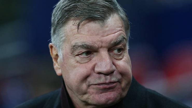 Einst nach nur einem Spiel als englischer Nationaltrainer entlassen, nun von Everton freigestellt: Sam Allardyce.