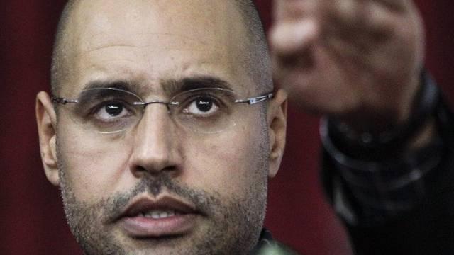 Saif al-Islam im März 2011