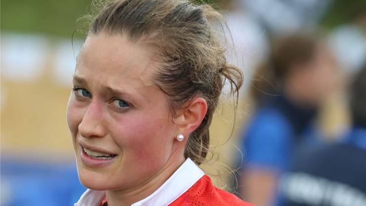 Judith Wyder ist ihr Leiden an der WM ins Gesicht geschrieben. Rémy Steinegger