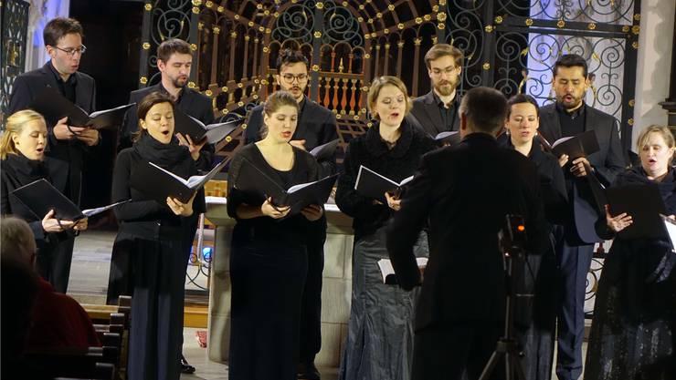 Der Kammerchor widmete sein Jubiläum dem Freiherrn von Eichendorff.js
