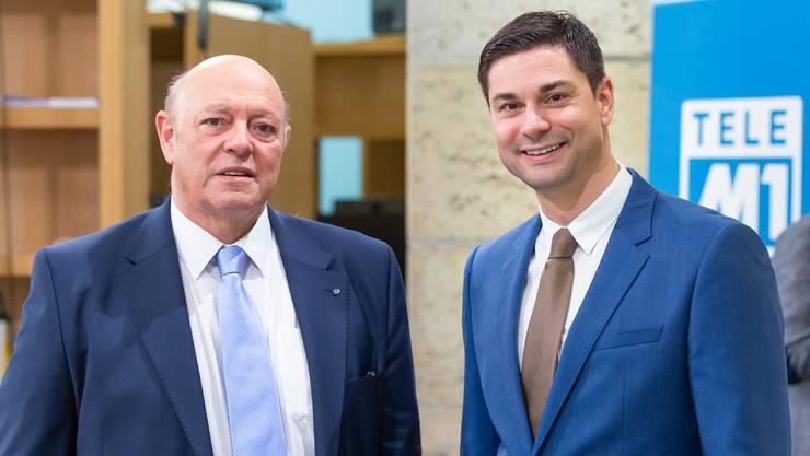 Ueli und Benjamin Giezendanner: Der Vater tritt ab, der Sohn folgt ihm im Nationalrat nach.