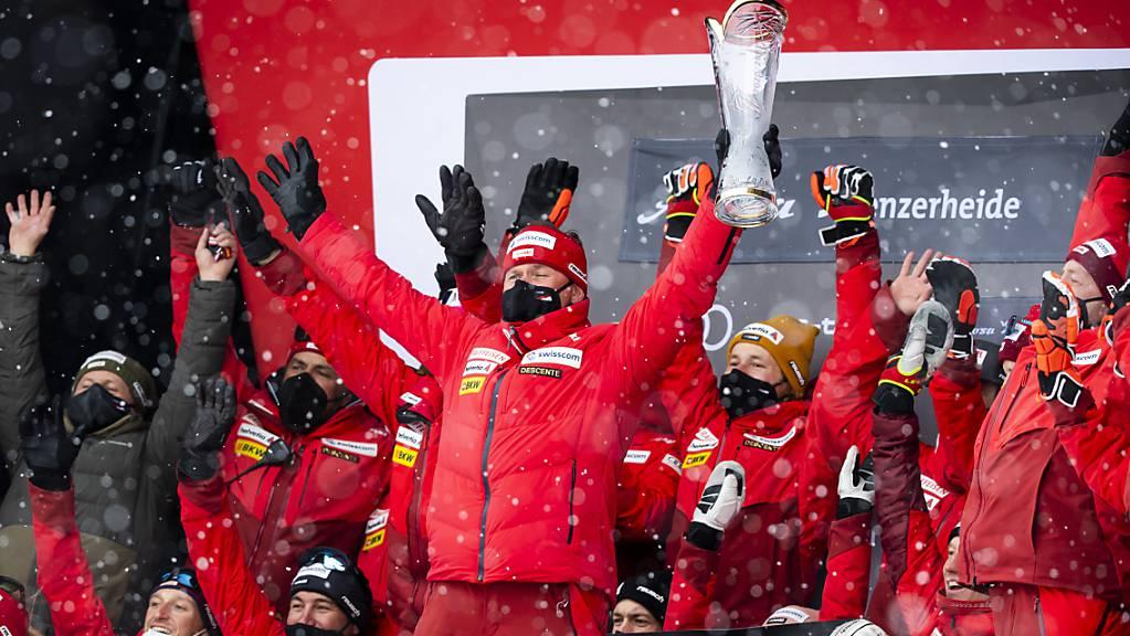 Die Schweiz ist zum zweiten Mal in Folge die Nummer 1 im Alpin-Bereich.