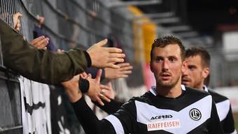 Alexander Gerndt darf sich gegen St. Gallen als Torschütze feiern lassen