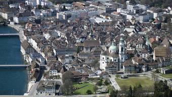 Die Stadt Solothurn ist gegenüber dem letzten Jahr ein wenig gewachsen.