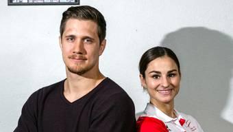Ciril Grossklaus und Elena Quirici ordnen dem Sport vieles unter, sehen das aber nicht als Verzicht.