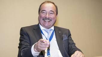 Michel Schaer jubiliert mit seinem Familienbetrieb.