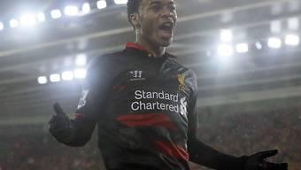 Raheem Sterling machte für Liverpool den Sack zu