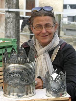 Filigrane Kunst aus Blechdosen