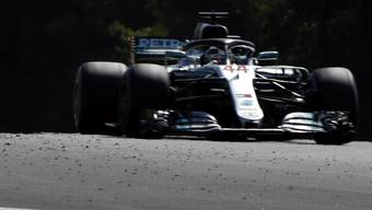 In Ungarn sehr schnell: Mercedes (im Bild Lewis Hamilton)