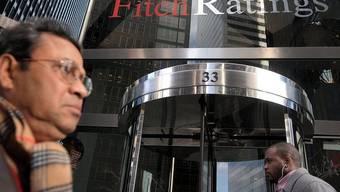 Fitch-Gebäude in New York: Die Rating-Agentur senkt Spaniens Bonitätsnote