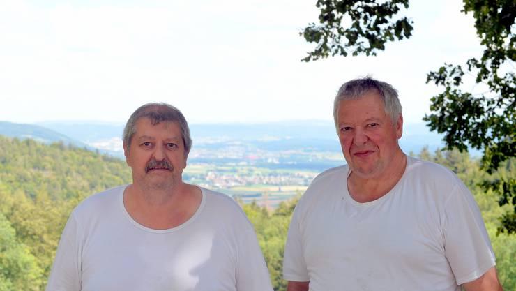 Ueli und Hans Rüegsegger führen das Erfolgsrezept ihrer Vorfahren weiter.