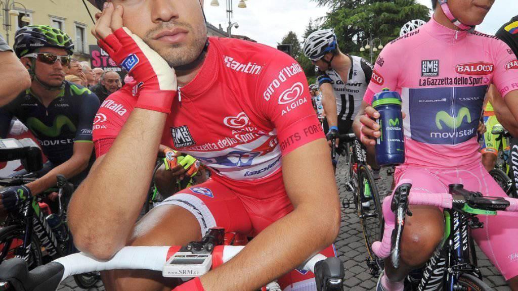 Sprintspezialist Nacer Bouhanni (links) muss wegen einer Handverletzung auf die Tour de France verzichten