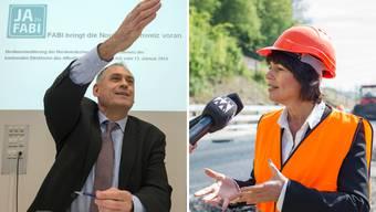 Bundesrätin Doris Leuthard hat mit ihrem Rüffel an Hans-Peter Wessels in Basel die Osttangente auf der politischen Agenda nach oben gespült.