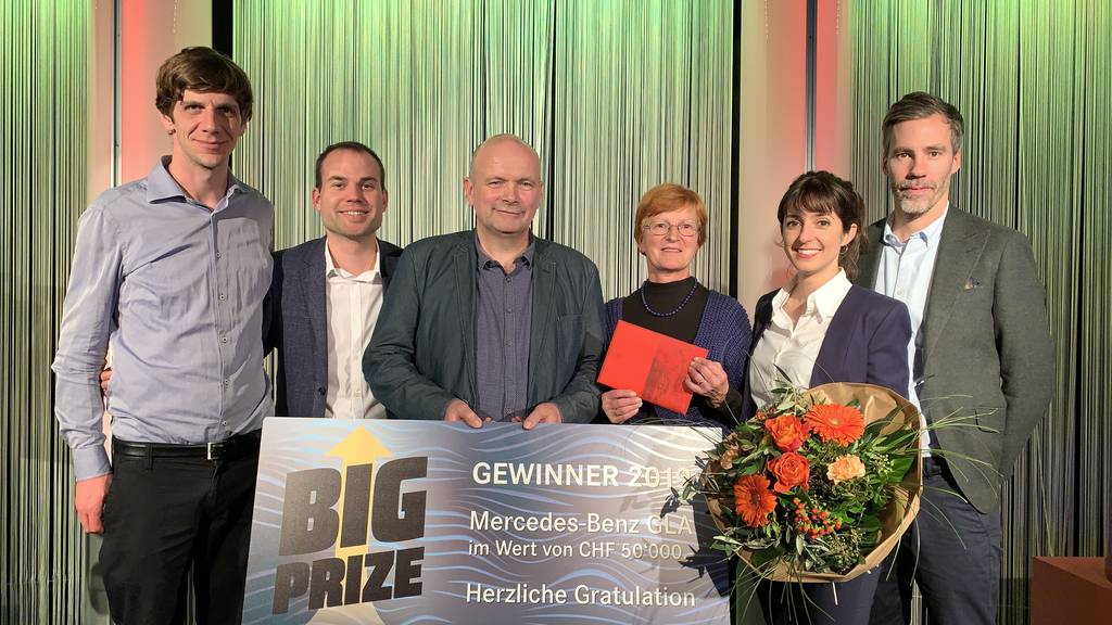 Big Prize! Fieber im Grand Casino Baden! And the winner is....
