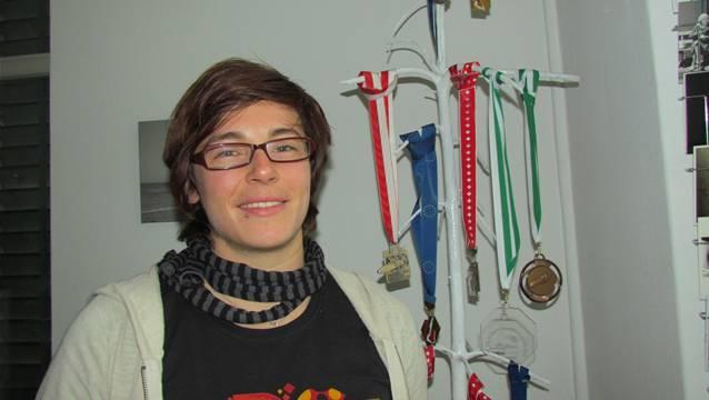 Michelle Huwiler: Die Olympischen Spiele von Sotschi im Visier.