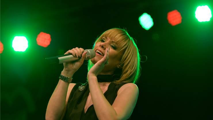 Francine Jordi sorgte bei ihrem letzten Auftritt in Grenchen an der Grega für ein volles Haus und gute Stimmung.