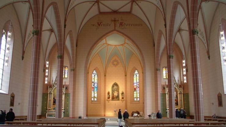 Der Innenraum der Kirche St. Peter und Paul wurde 2005 renoviert.