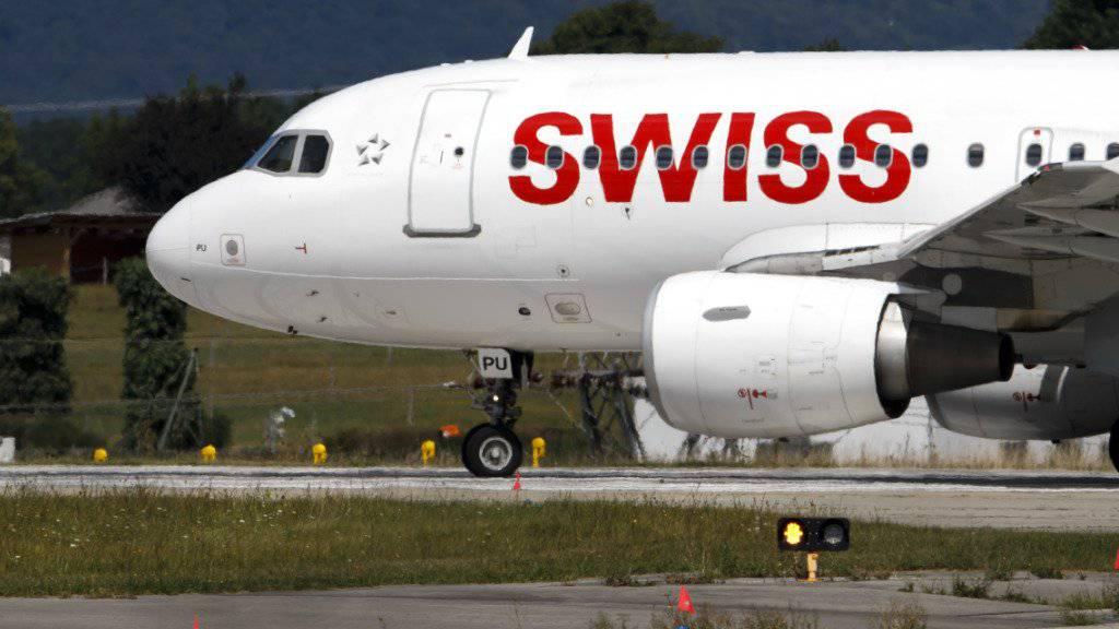Der Flug LX8 der Swiss musste am Montag in der kanadischen Provinz Neufundland wegen eines medizinischen Notfalls an Bord zwischenlanden. Der Flug erreichte sein Ziel Chicago schliesslich mit dreistündiger Verspätung. (Archivbild)