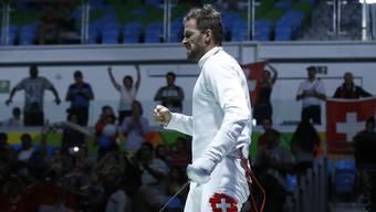 Benjamin Steffen darf sich über die Wahl zum Basler Sportler des Jahres 2016 freuen.