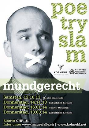 "Flyer ""Mundgerecht"" 2013/14"