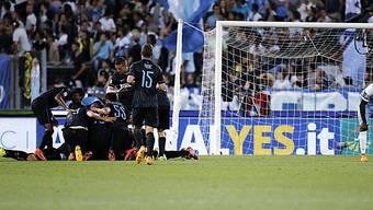 Inter Mailand feierte einen wichtigen Sieg in Rom