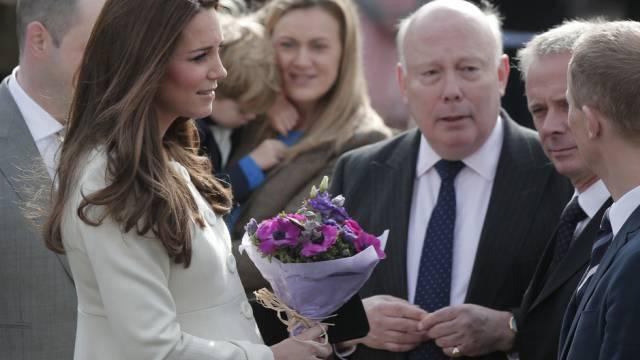 """Personal von """"Downton Abbey"""" begrüsst Herzogin Kate"""