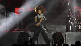 """Janet Jackson, die Schwester des """"King of Pop"""" Michael Jackson, macht nach der Geburt ihres Sohnes und der Trennung von ihrem Mann wieder Musik: Nach drei Jahren veröffentlichte sie eine neue Single. (Archiv)"""