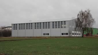 Rund eine Million Franken hat die Bertschi AG in die neue Halle investiert.