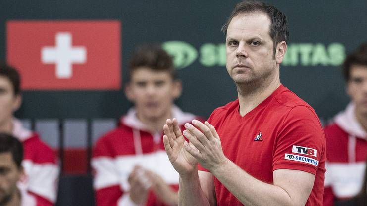 Der Trainer. Seit elf Jahren an Roger Federers Seite. Nicht nur Trainer, sondern auch Freund.