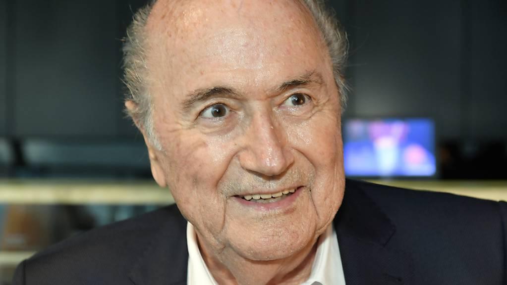Sepp Blatter weiss noch nichts von der angeblichen Klage der Fifa gegen ihn.