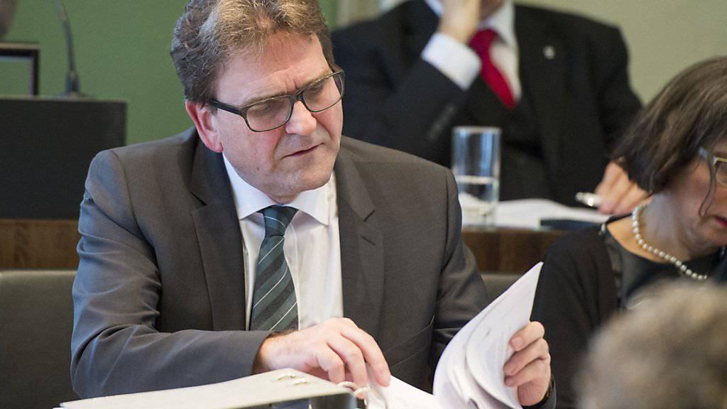 Die Enthüllungen um ein Verfahren gegen den Zuger Regierungsrat Beat Villiger haben ein juristisches Nachspiel. (Archivbild)