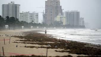 Florida vor der Ankunft von Hurrikan Irma