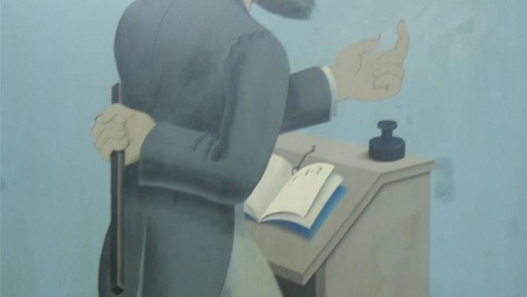 Niklaus Stoecklin karikierte 1930/31 im Zyklus «Die Fakultäten» den Schulmeister. (zvg)
