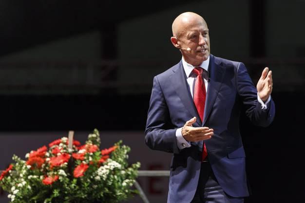 GV Raiffeisenbank Weissenstein: Raiffeisen-CEO Patrik Gisel