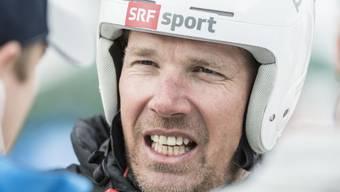 Vor zehn Saisons hat Bruno Kernen seine Karriere als Skirennfahrer beendet. Auf der Piste ist er heute aber fast häufiger anzutreffen als damals. (Archivbild)