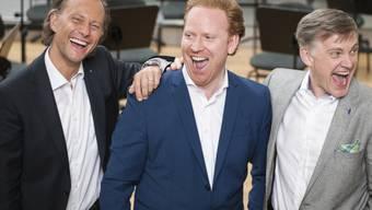 Michael Bühler (links) und Daniel Hope (Bild: zko)