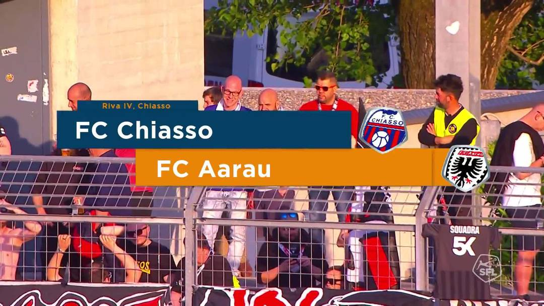 Challenge League 18/19 Runde 35: Chiasso - FC Aarau 24.2.19 - Matchhighlights