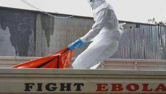 Das Ebola-Virus zählt zu den gefährlichsten Krankheitserregern der Welt. 25 bis 90 Prozent der Infizierten sterben. (Symbolbild)