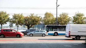 Auf Schweizer Strassen sind immer weniger Diesel-Autos unterwegs.