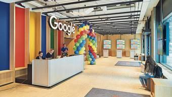Die Büroräume von Google bleiben wohl noch länger leer.
