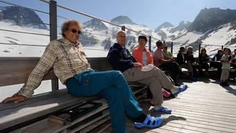 Die renovierte Rotondo-Hütte (2571 m. ü. M.)