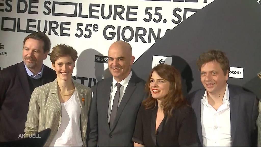 Alain Berset zu Gast an der Eröffnung der Solothurner Filmtage