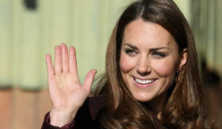 Herzogin Kate ist in froher Erwartung
