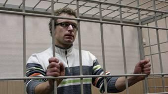 Marco Weber bei einer Anhörung in Murmansk (Archiv)