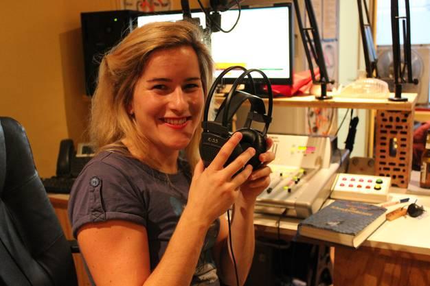 Claudia Stephani ist vor ihrer ersten Sendung nervös
