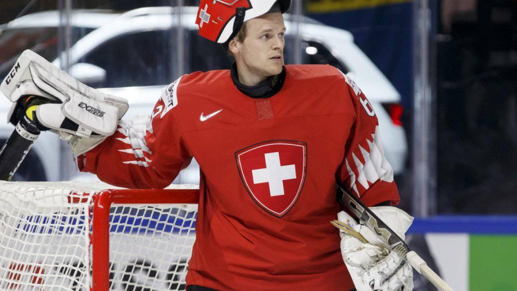 Leonardo Genoni soll die Schweiz zum WM-Titel hexen.